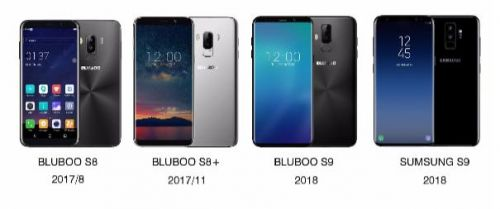 BLUBOO S9 To Ship With An OLED Display, 6GB / 8GB Of RAM