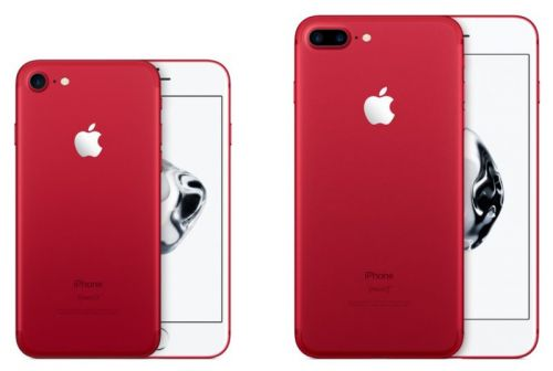 Apple Retires RED iPhone 7 and iPhone 7 Plus Models