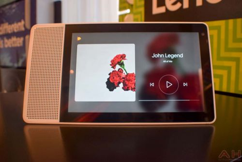 Hands On: Lenovo's Google Assistant-Powered Smart Display - CES 2018