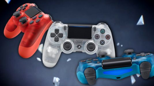 Sony's new PS4 controllers are a see-through 90s throwback