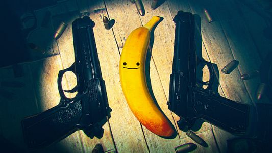 My Friend Pedro Switch Review - Action-packed, Bananas, but Cumbersome