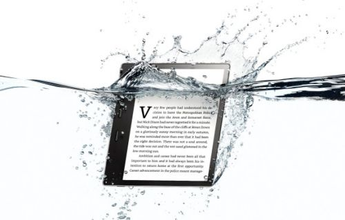 Amazon launches 7″ waterproof Kindle Oasis with Audible integration, starting at $250