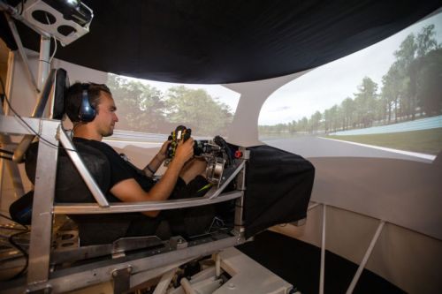 This isn't a game: We try out a professional driver-in-the-loop simulator