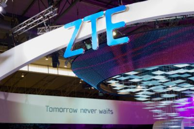 This is the ZTE Quartz, the company's first Android Wear watch