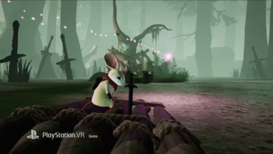 Moss's PSVR fairy-tale adventure launches February 27