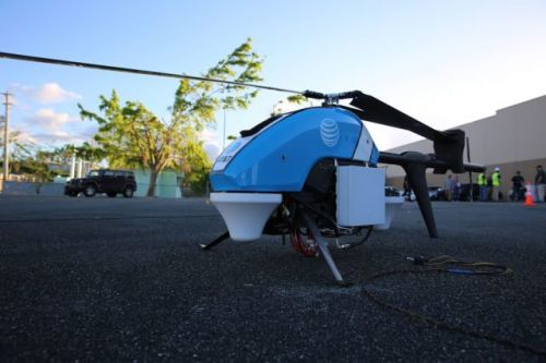 FAA Approves Flying Cow Drones To Restore Cell Coverage In Puerto Rico