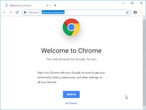 A look at Chrome's new tab design