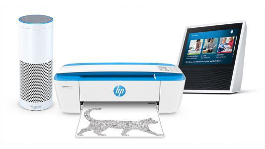Thanks to HP you can now start talking to your printer as well