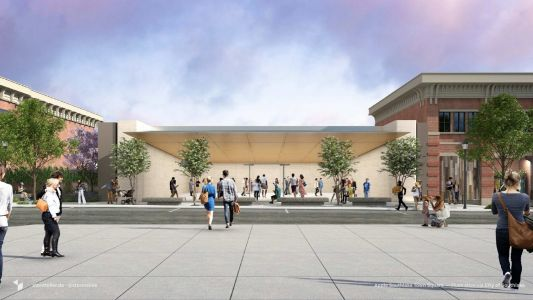 Apple's plans for remodeled store in Southlake, Texas shown in new rendering