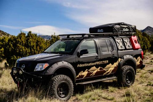 """Nissan Destination Discovery Frontier Truck Demos """"Affordable"""" Overlanding"""