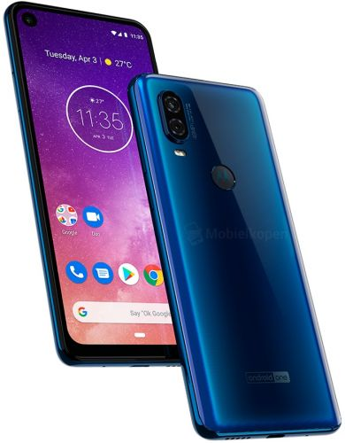 Blue Motorola One Vision Appears With Android One Branding