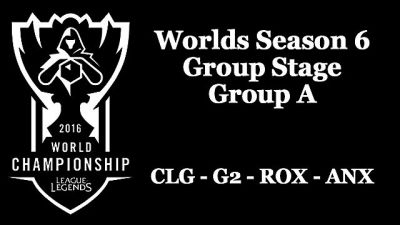 League of Legends World Championship Season 6: Summaries from the Group Stage- Group A