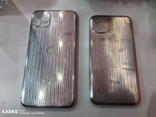 Alleged iPhone 11 Molds Show Of Triple Camera Setup