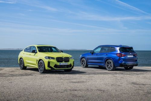 BMW X3 M Competition and BMW X4 M Competition unveiled