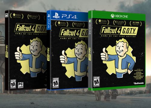 Fallout 4 Game Of The Year Edition Now Available