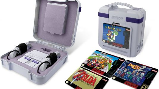 Keep your SNES Classic Mini safe from scalpers with this official carry case