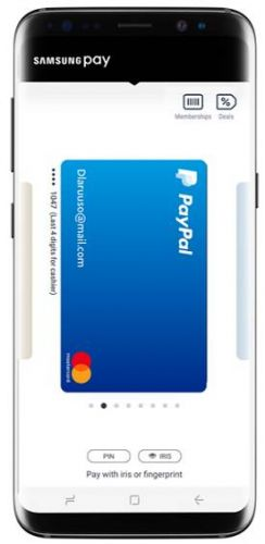 Samsung Pay Now Lets Users Pay With PayPal