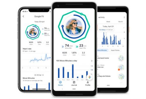 Google Fit redesign adds coaching, pushes heart and leg activities