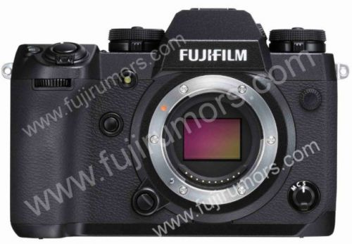 Alleged Photo Of The Upcoming Fujifilm X-H1 Has Been Leaked