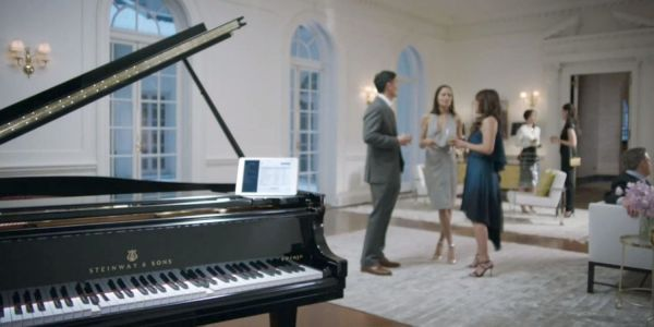 Steinway Spirio | r piano uses an iPad to correct and play your live piano performances