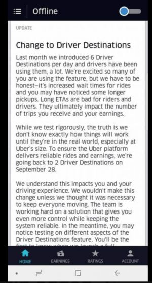 Uber Reportedly Testing A Pay Upfront Gamble For Drivers
