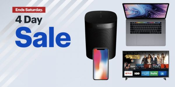 New Best Buy 4 day sale discounts MacBook Pro and Sonos, plus get a $100 Amazon gift card w/ iPhone 6s, more