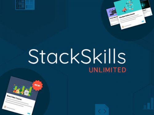 Last Minute Deal: Save 96% on the amazing StackSkills Unlimited Lifetime Access