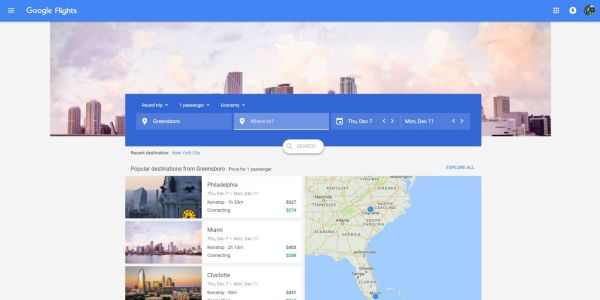 Google Flights gets a new look on desktop with Material Design front and center