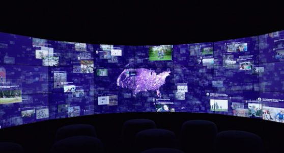 How Oblong helped IBM build its 'immersion rooms' with giant displays