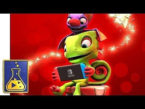 Yooka-Laylee Out on Nintendo Switch December 14