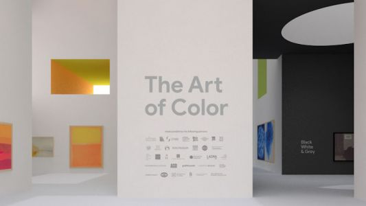 Google brings an AR art gallery to your pocket - and it's all about color