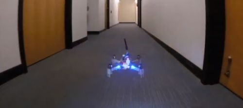 AI guides single-camera drone through hallways it's never seen before