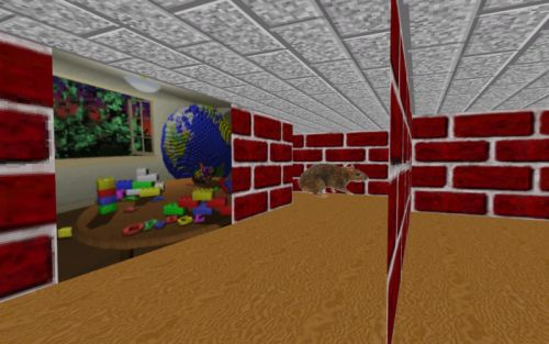 Relive Windows 95's 3D Maze screensaver as a nostalgic cyberpunk indie game