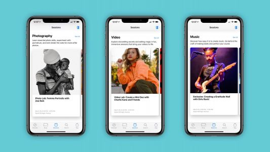 Apple Store app updated to highlight new Today at Apple sessions, iPhone trade-ins