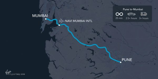 Where will the first full hyperloop track be built? Maybe India