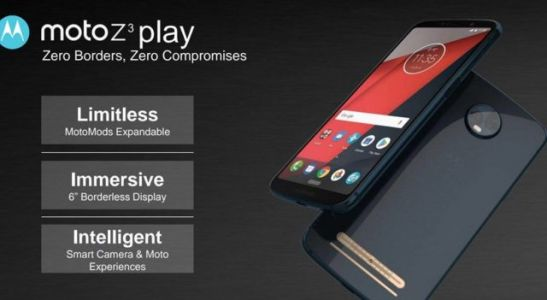 Alleged Moto Z3, Moto Z3 Play Specs & Features Leaked
