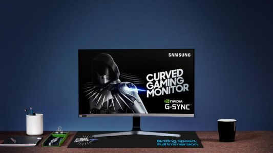 Samsung's new curved CRG5 gaming monitor is a gamer's delight