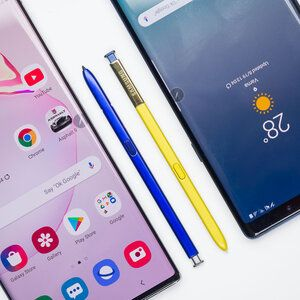 Samsung Galaxy Note 10+ vs Galaxy Note 9