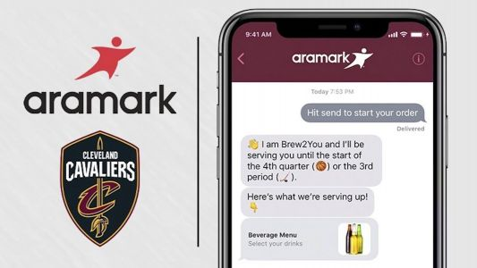 Quicken Loans Arena integrating Apple Business Chat for in-seat drink orders