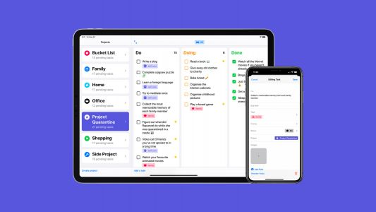 Tasks is a new iOS app that helps you organize projects by priority in an intuitive way