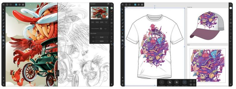 Graphic Design App 'Affinity Designer' Launches for iPad With Apple Pencil Support