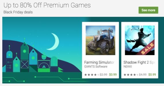 Google shares its list of best Black Friday games, movies, and more