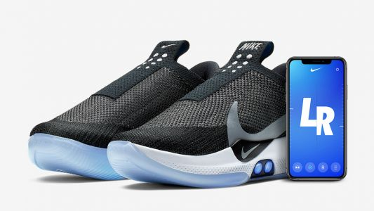 Nike announces self-lacing, app-controlled basketball sneakers