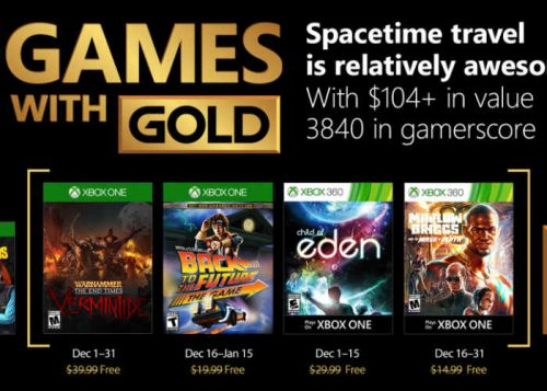 Free Xbox Games For Gold Members During December 2017 Confirmed