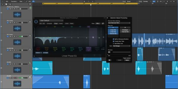Logic Pros: Using Selection-Based Processing for easy audio repairs & precision editing