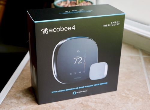 Grab the ecobee4 Alexa-enabled Smart Thermostat for $199