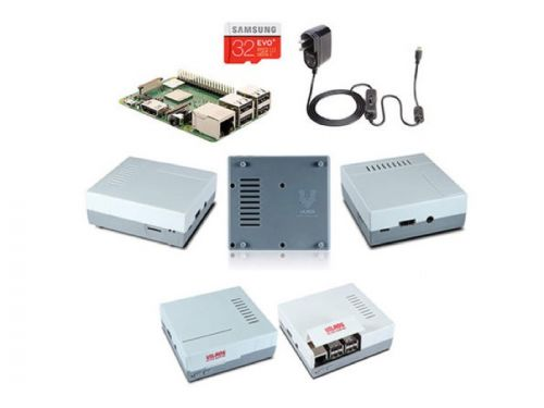 Save 15% on the Vilros Raspberry Pi 3 Model B+ Retro Gaming Kit & Controllers