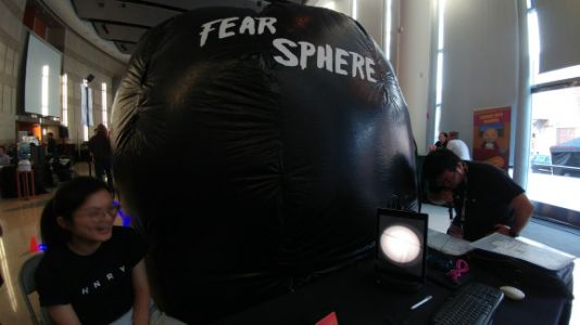 Fear Sphere turns the scary flashlight levels of horror games into reality
