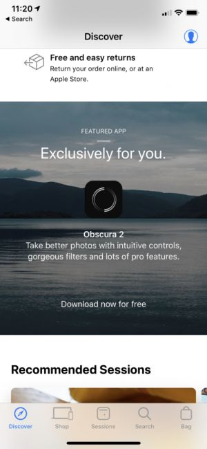 Grab Obscura 2 Now for Free Through the Apple Store App