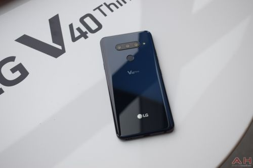 LG V40 ThinQ With Five Cameras Announced